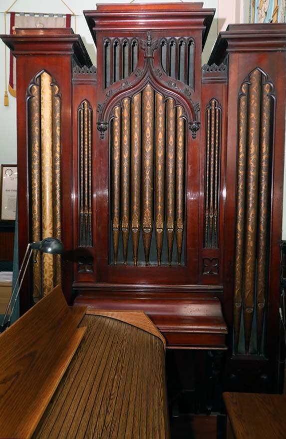 Athol Freemasons Pipe Organ