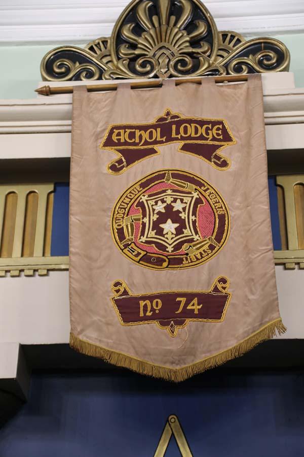 Athol banner & warrant