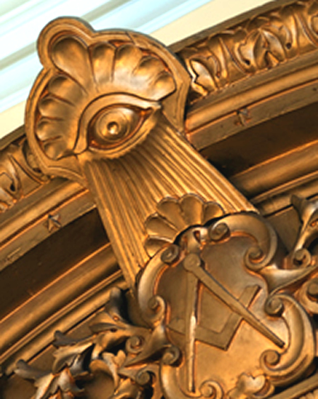 Masonic lodge Mirror