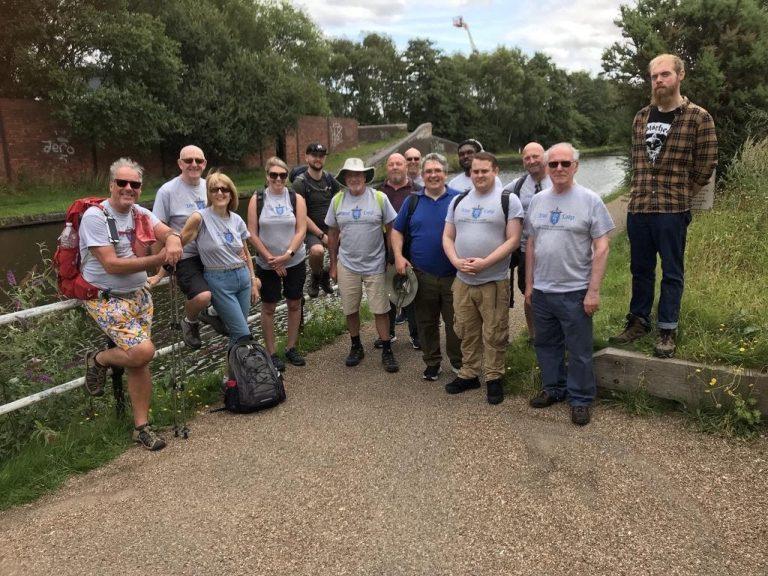 freemason universities scheme charity walk 2
